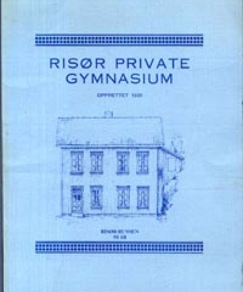 Risør private gymnasium