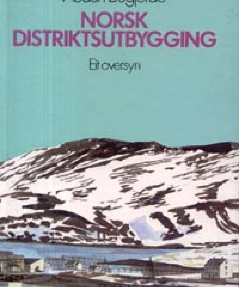 Norsk distriktsutbygging