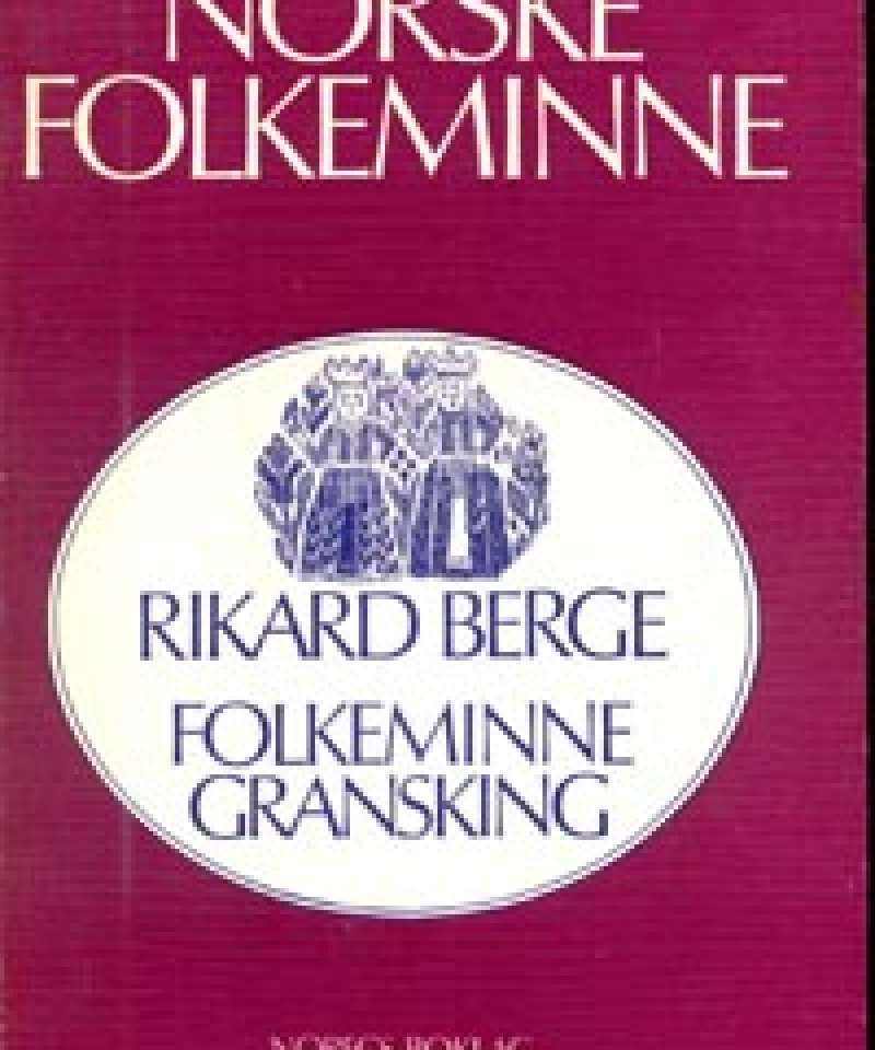 Folkeminnegransking