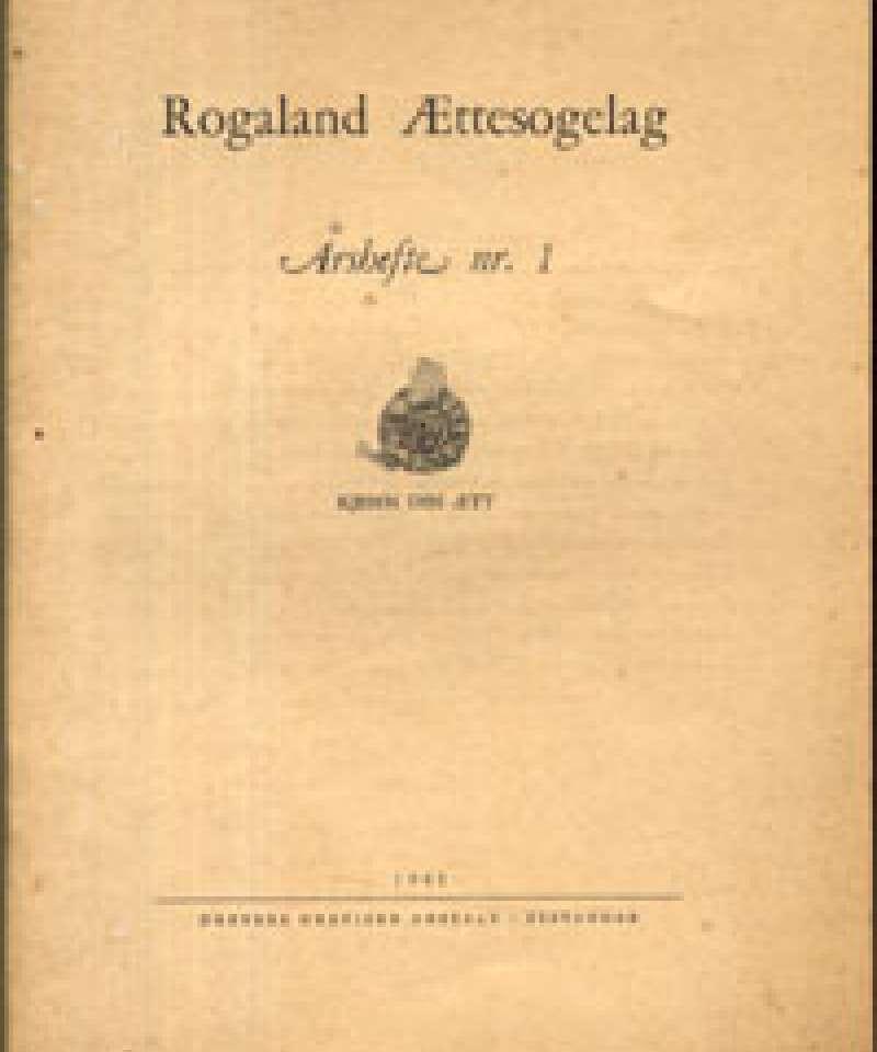 Rogaland Ættesogelag 1941