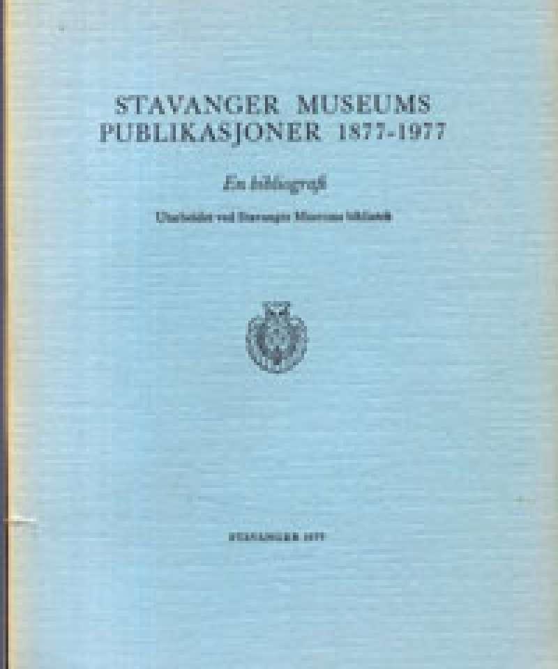 Stavanger Museums publikasjoner 1877-1977