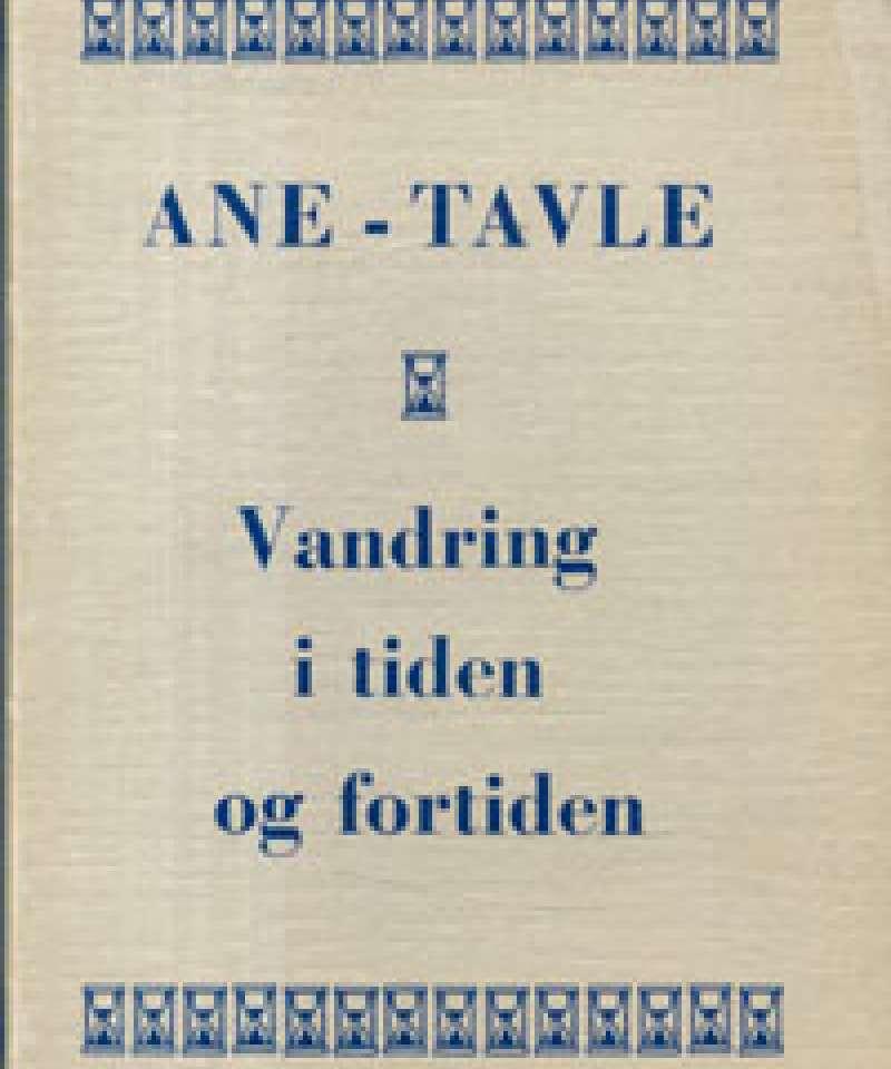Ane-tavle