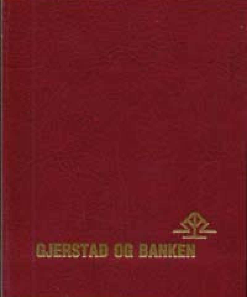 Gjerstad og banken
