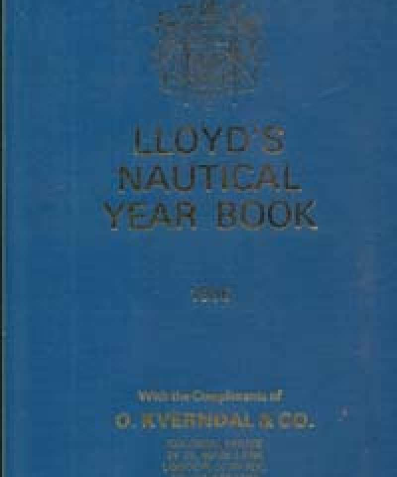 Lloyd's Nautical Year Book