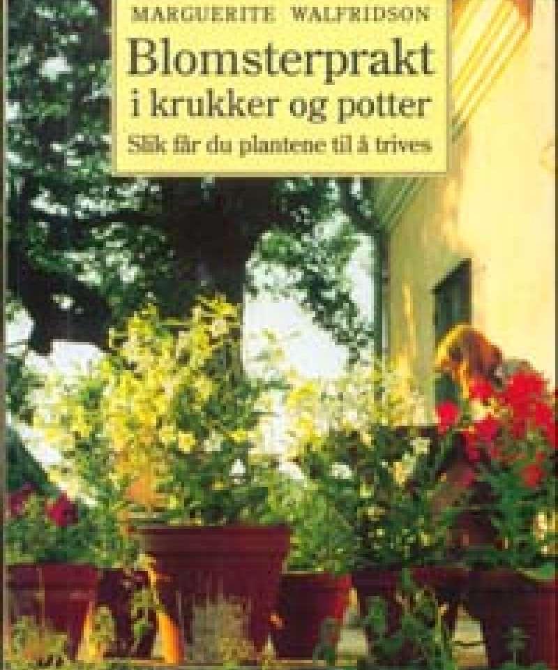 Blomsterprakt i krukker og potter
