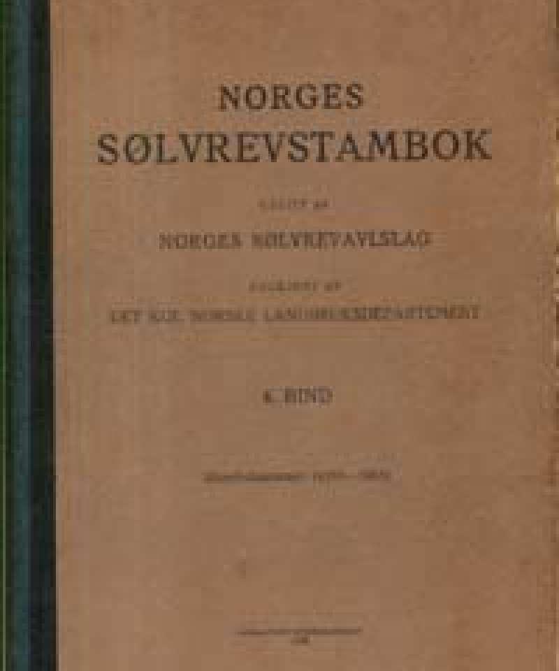 Norges Sølvrevstambok