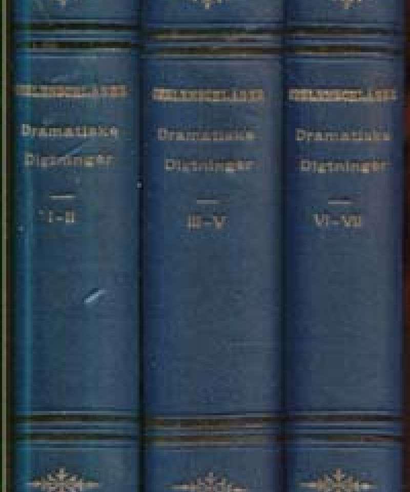 Poetiske Skrifter - Dramatiske digtninger