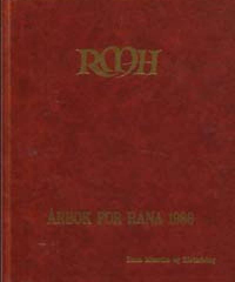 Årbok for Rana 1986