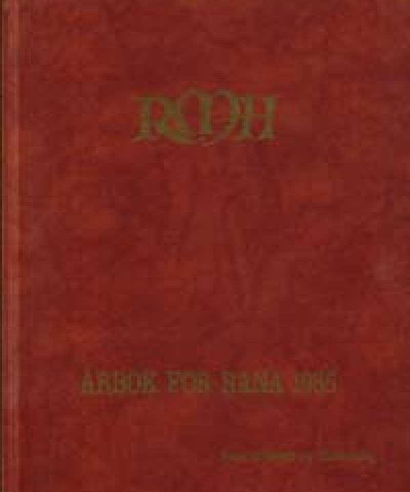 Årbok for Rana 1985