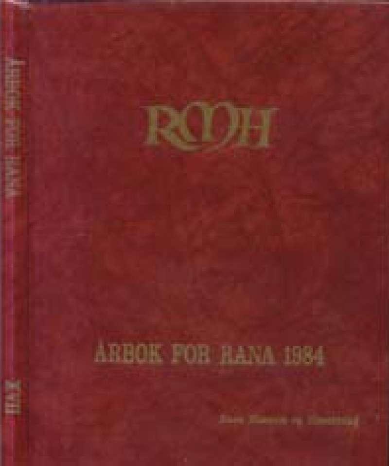 Årbok for Rana 1984