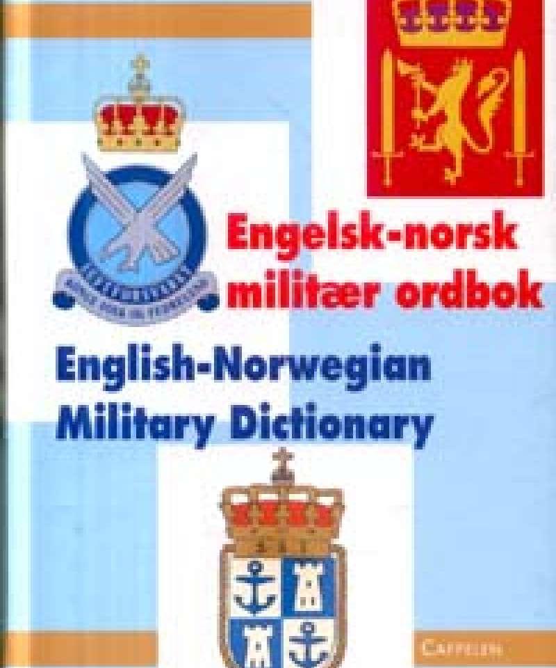 Engelsk-Norsk militær ordbok