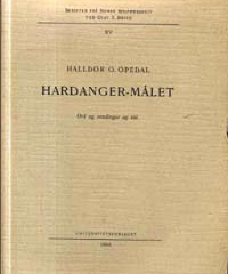 Hardanger-målet