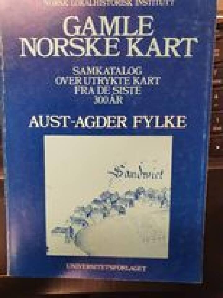 Gamle norske kart