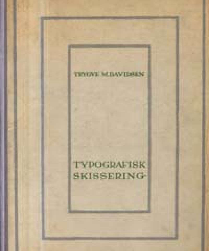 Typografisk skissering