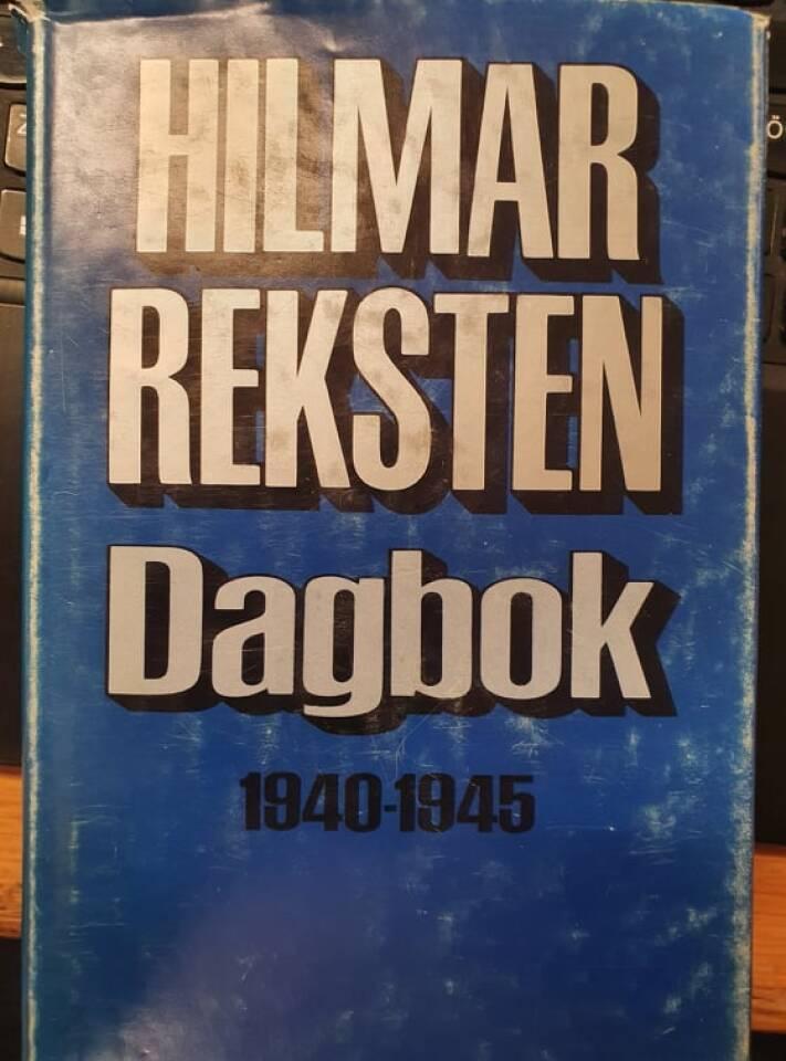 Hilmar Reksten Dagbok 1940-1945