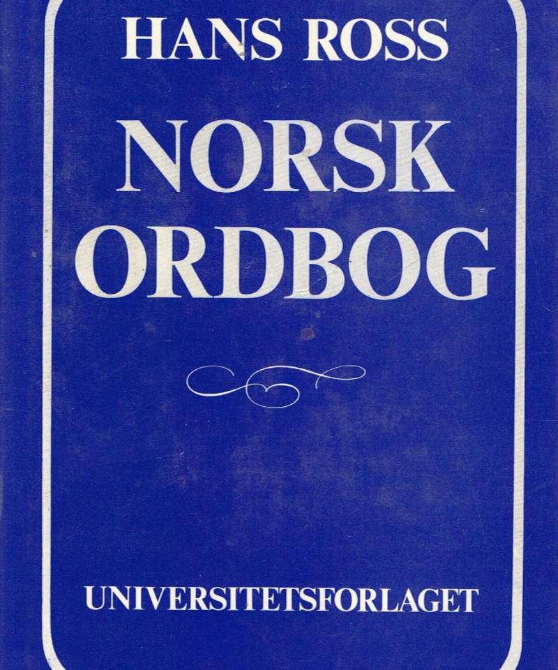 Norsk ordbog