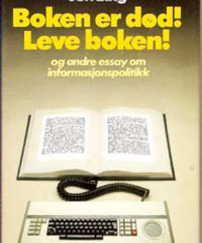 Boken er død! Leve boken!