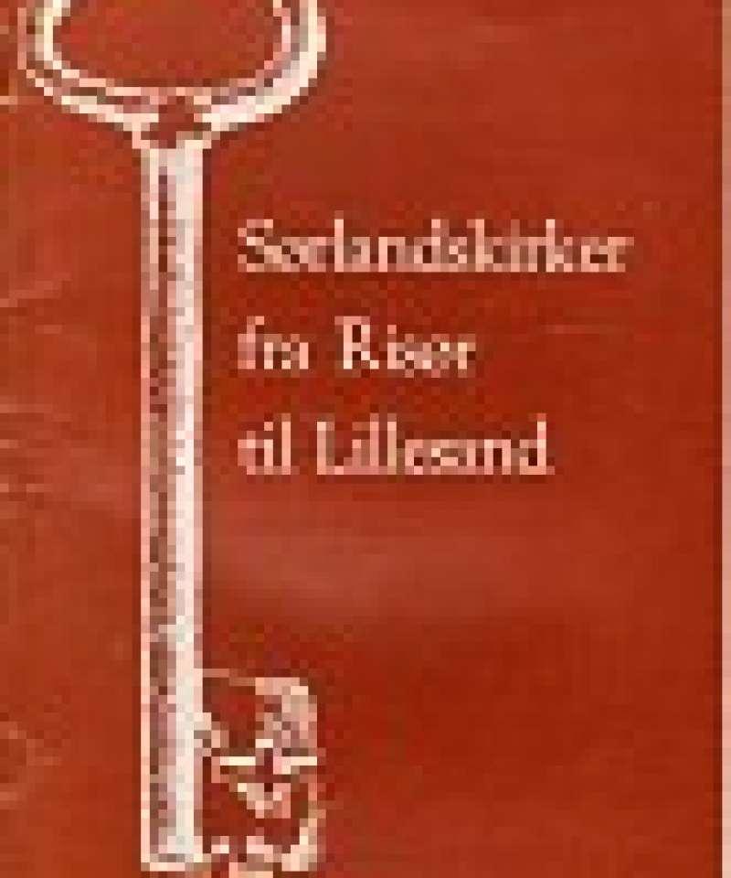 Sørlandskirker fra Risør til Lillesand