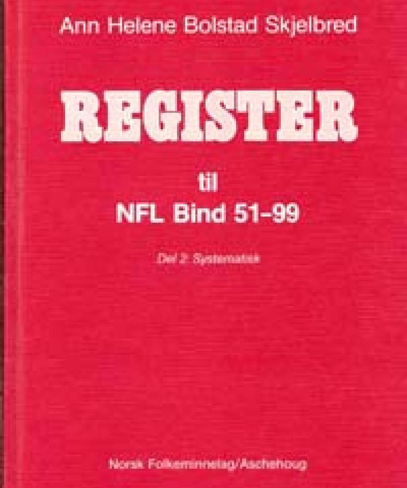Register til NFL Bind 51-99