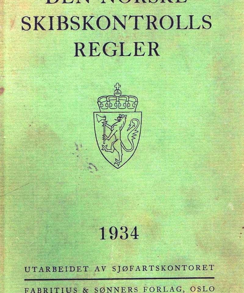 Den norske Skibskontrolls regler 1934