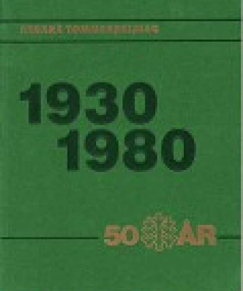 Nidarå Tømmersalslag 1930 - 1980