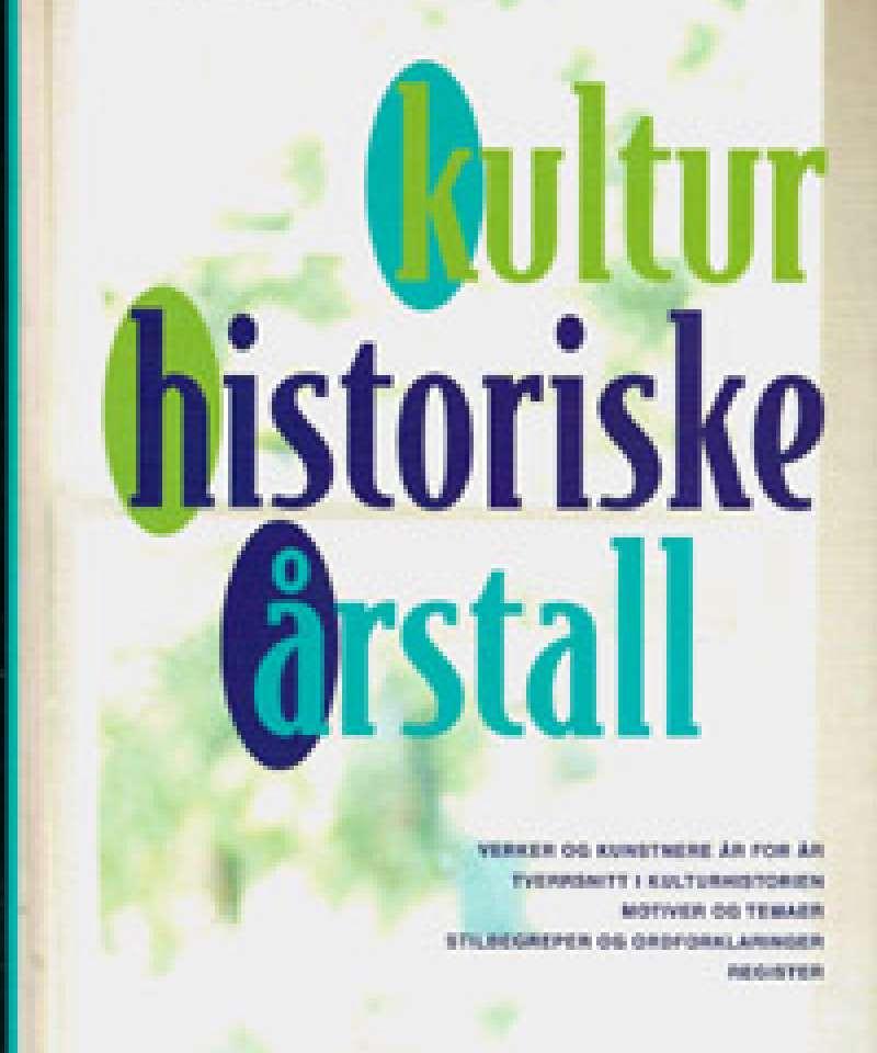Kulturhistoriske årstall