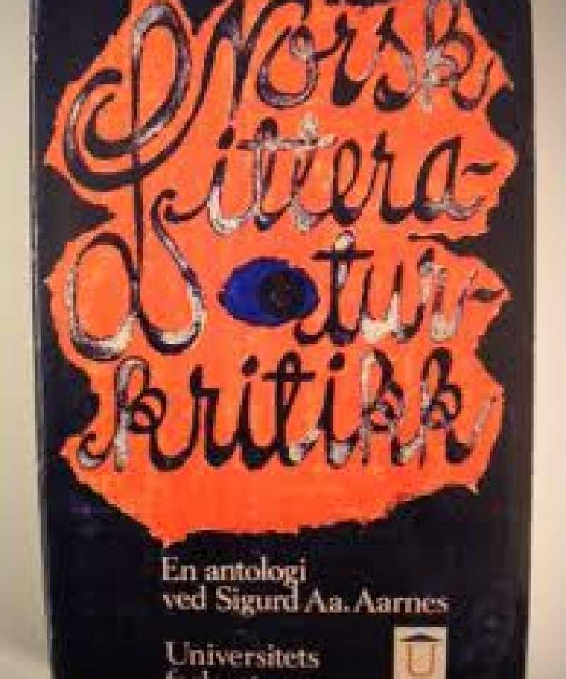 Norsk Litteraturkritikk
