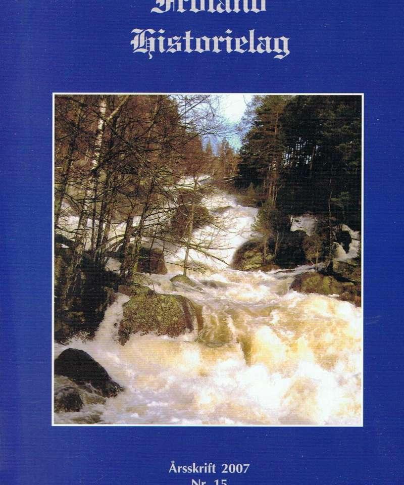 Froland og Mykland Historielag 2007
