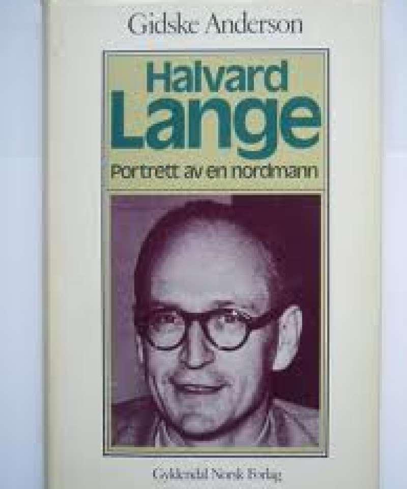 Halvard Lange, Portrett av en nordmann