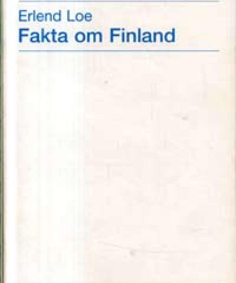 Fakta om Finland