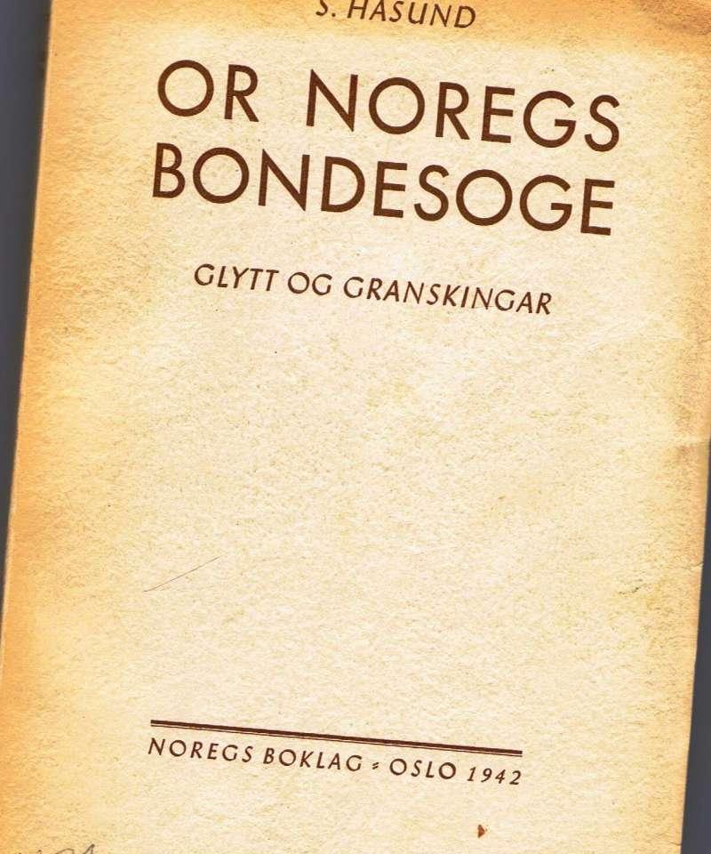 Or Noregs bondesoge
