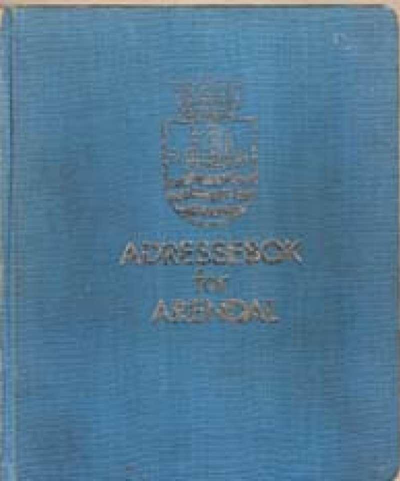 Adressebok for Arendal