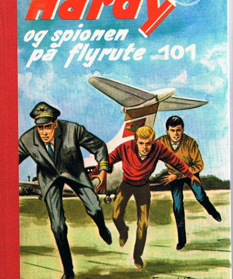 Hardy og spionen på flyrute 101