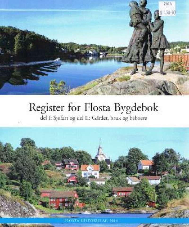 Register Flosta Bygdebok del I og del II