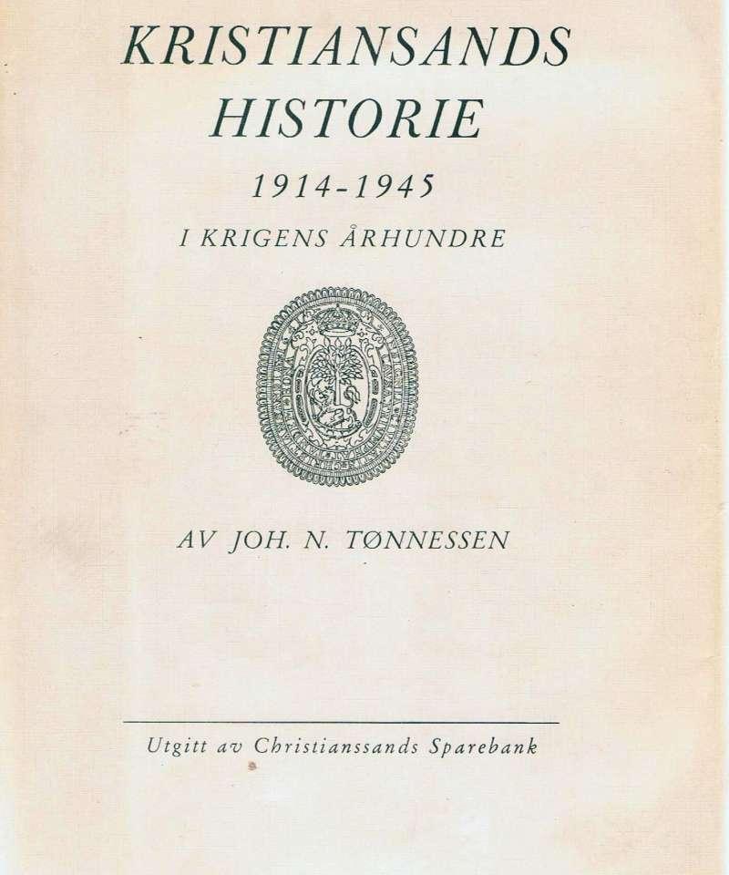 Kristiandsands historie 1914 - 1945