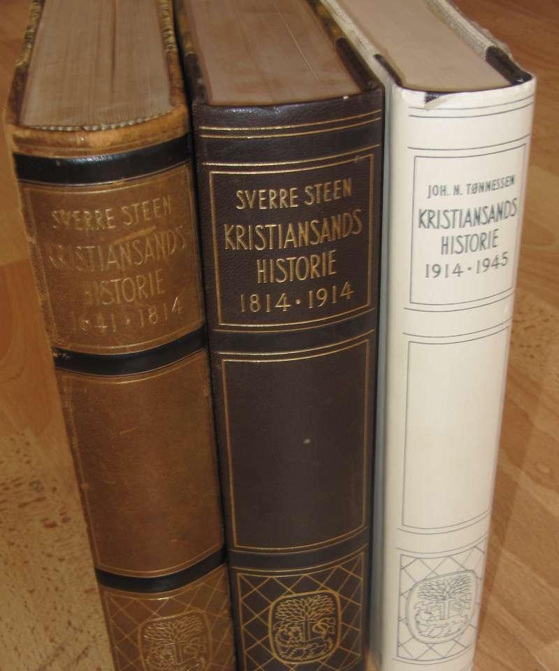Kristiansands historie 1614-1814, 1814-1914