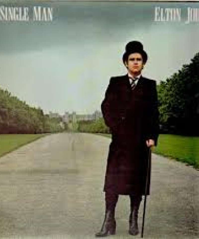 A single man. Elton John