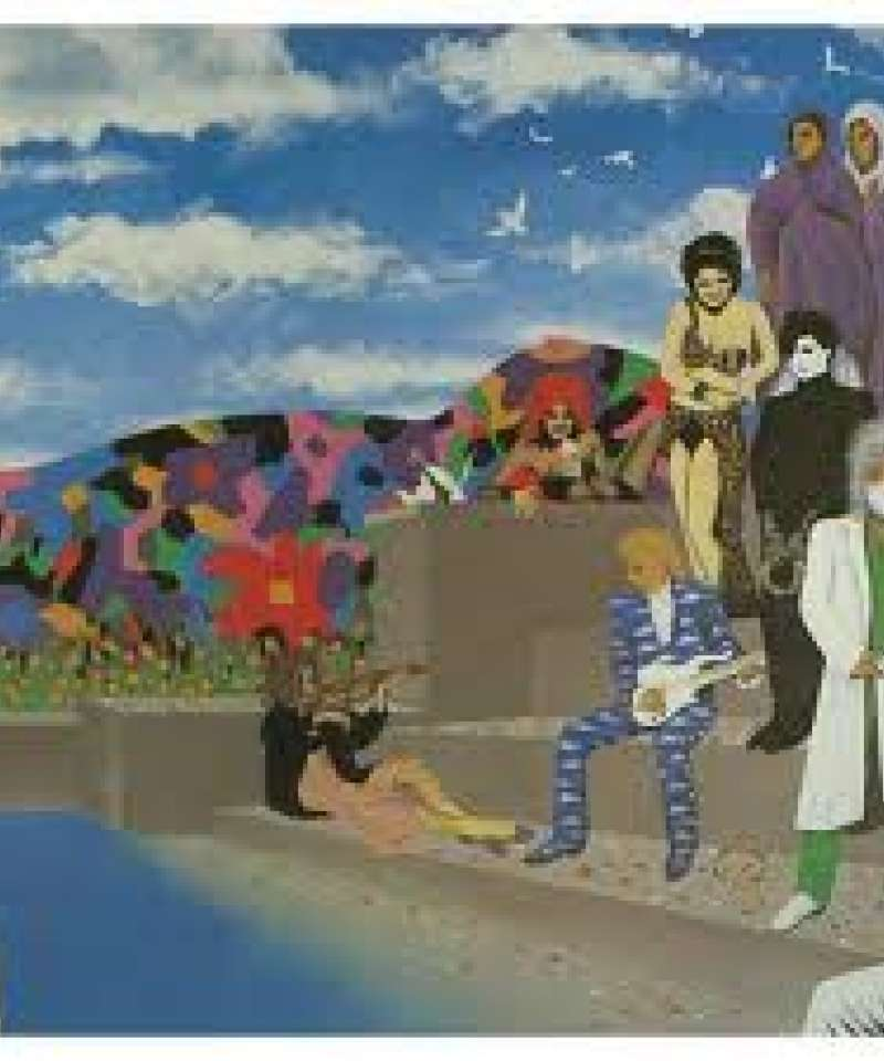 Prince and The Revolution. Around the world in a day