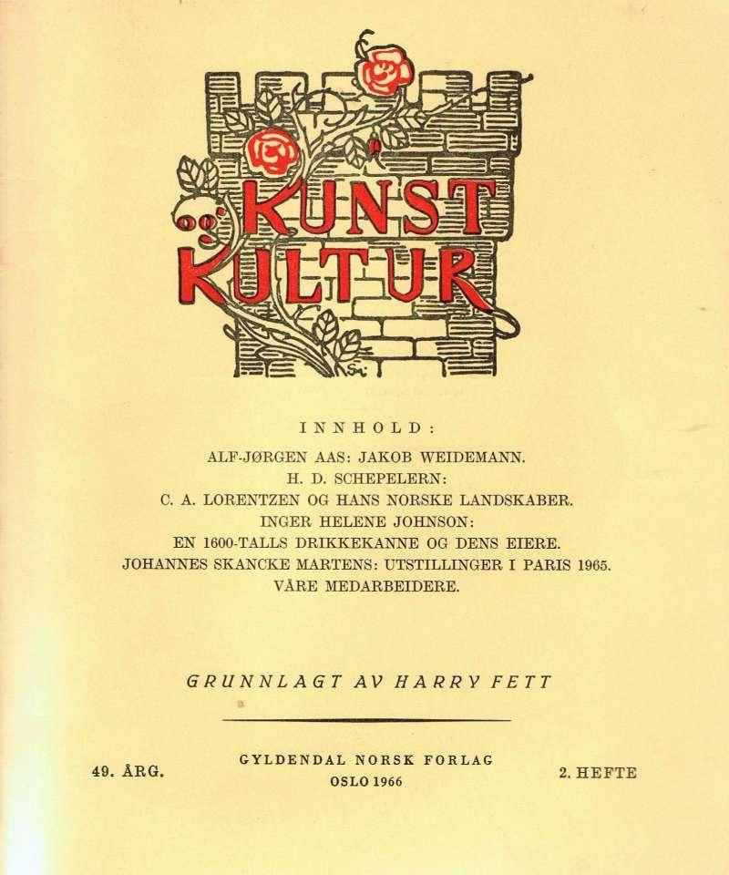 Kunst kultur 49. årg.