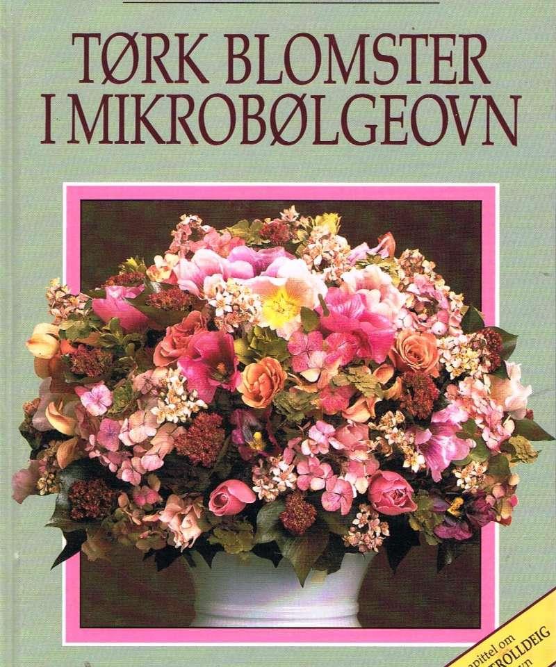 Tørk blomster i mikrobølgeovn