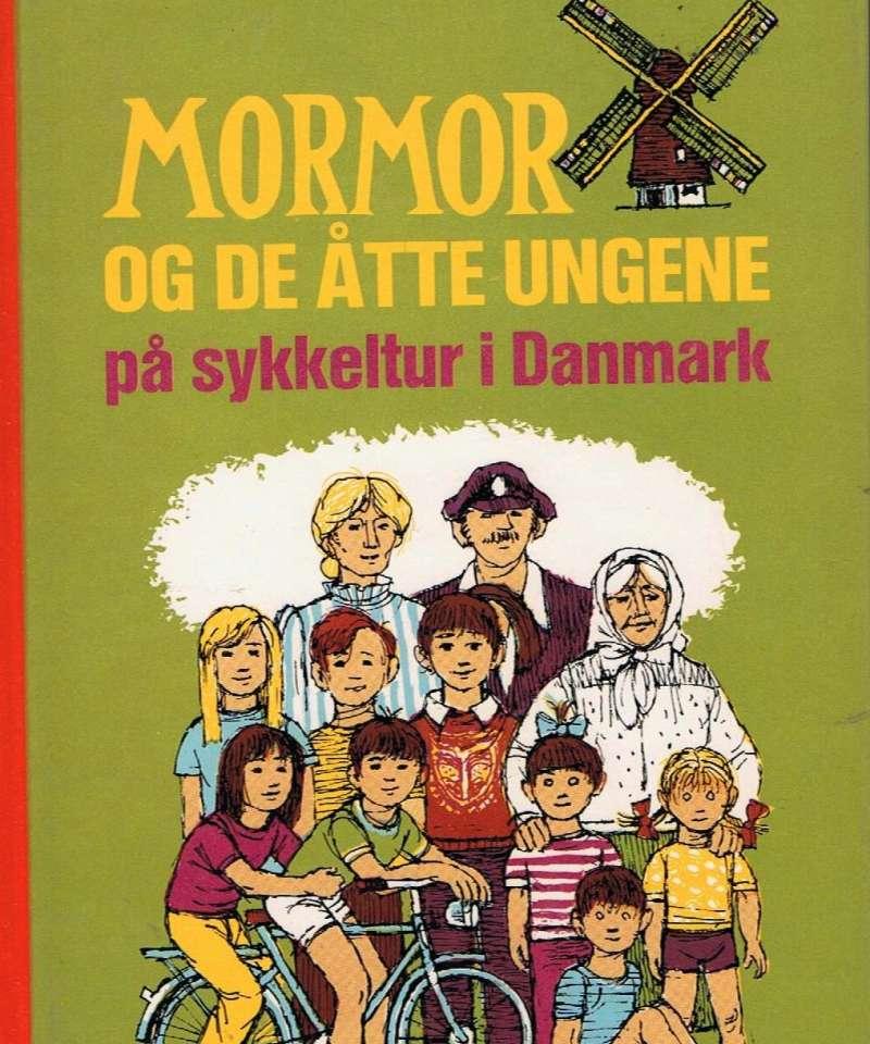 Mormo og de åtte ungene på sykkeltur i Danmark