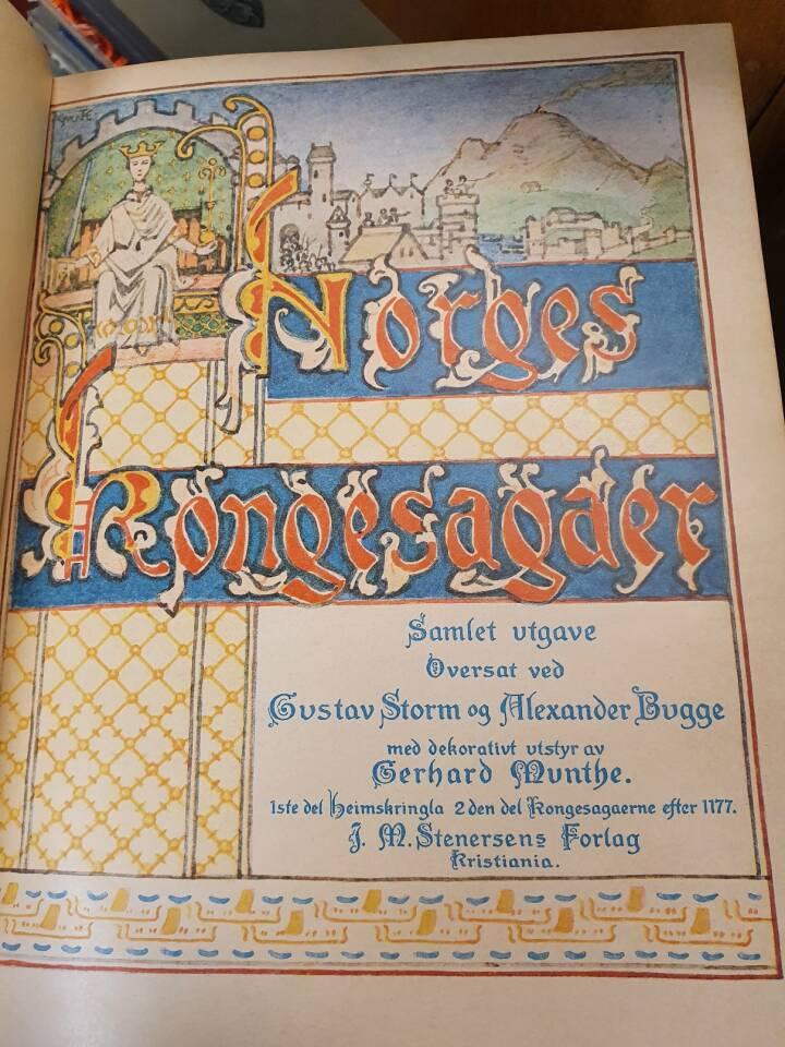 Norges kongesagaer