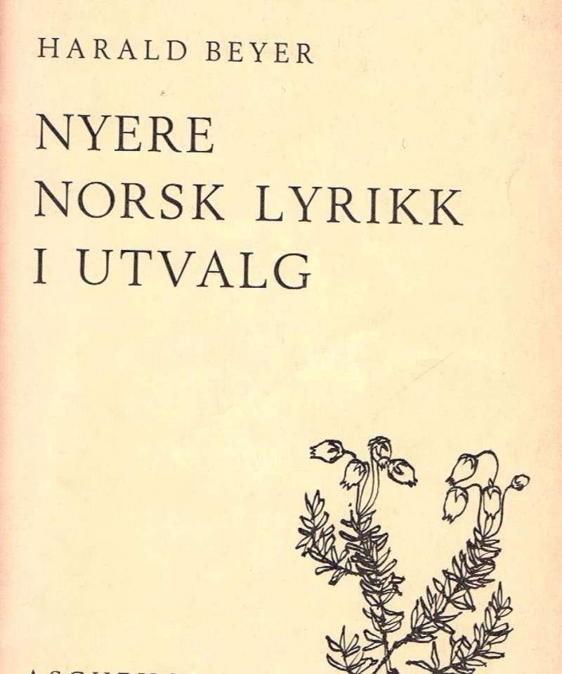 Nyere norsk lyrikk i utvalg