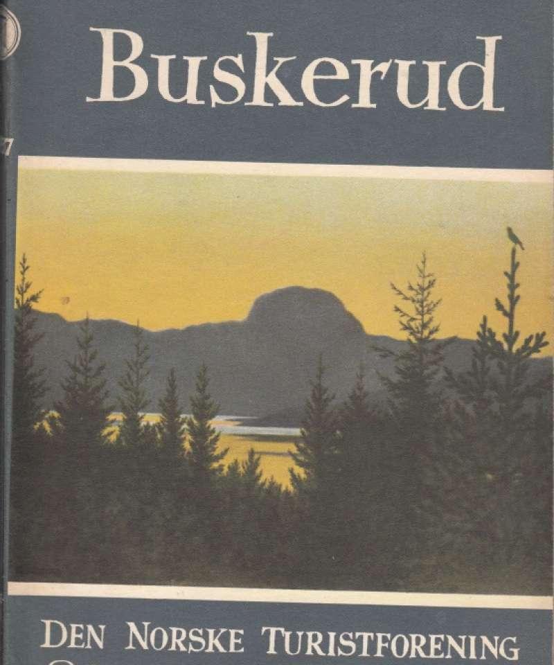 Buskerud. Den norske turistforening. Årbok 1957