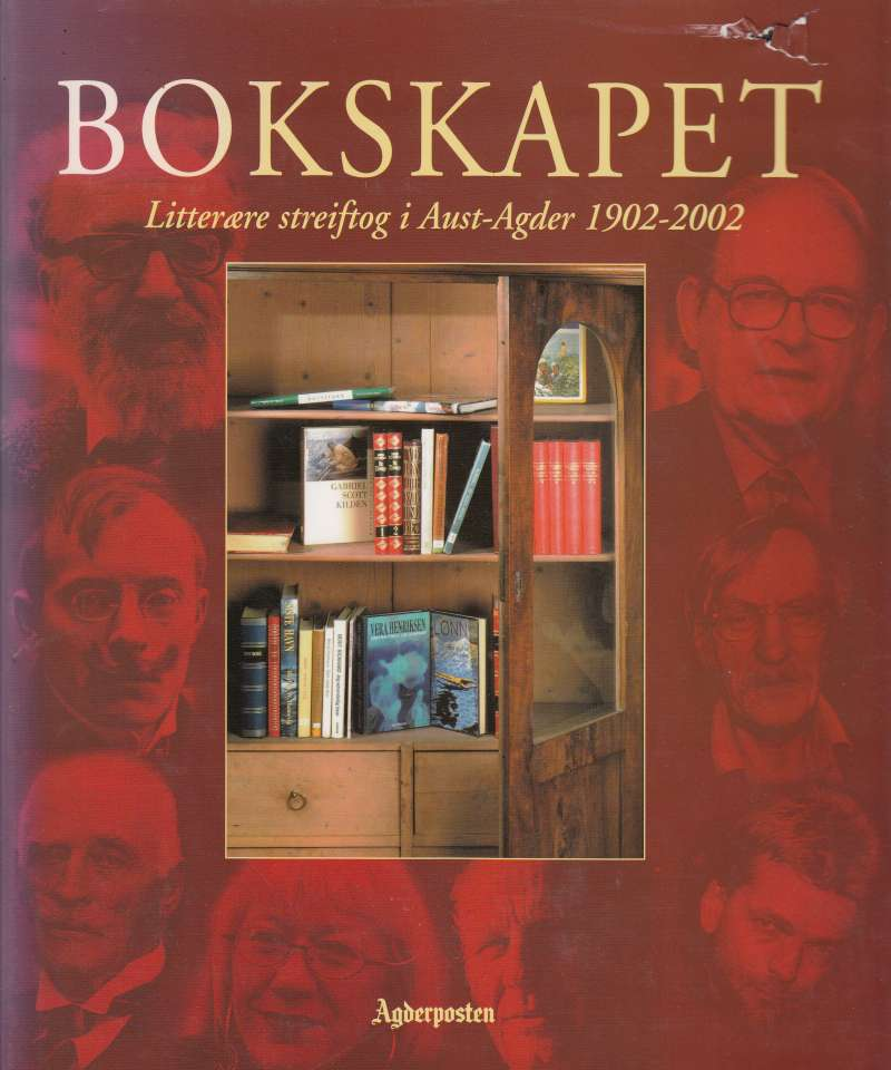 Bokskapet. Litterære streiftog i Aust-Agder 1902-2002