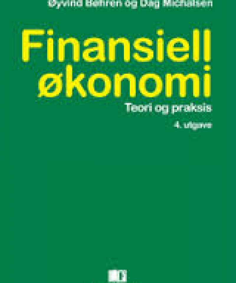 Finansiell økonomi- teori og praksis