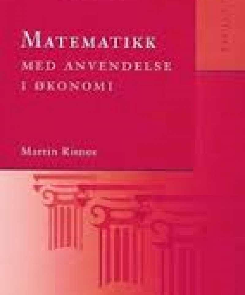 Matematikk med andvendelse i økonomi