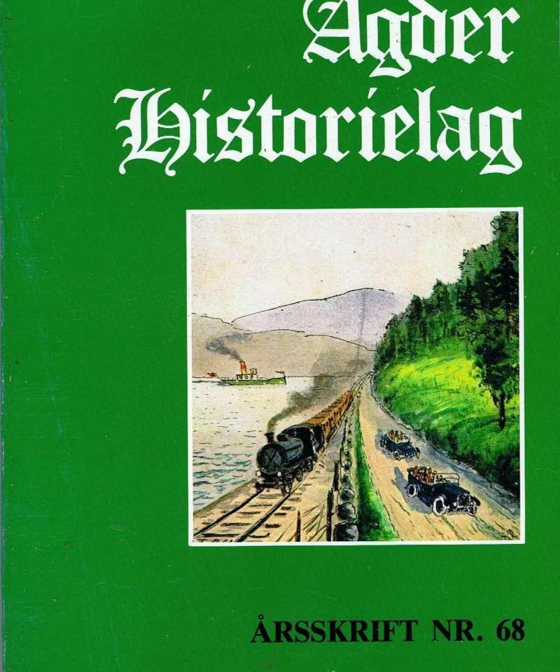 Agder Historielag nr 68