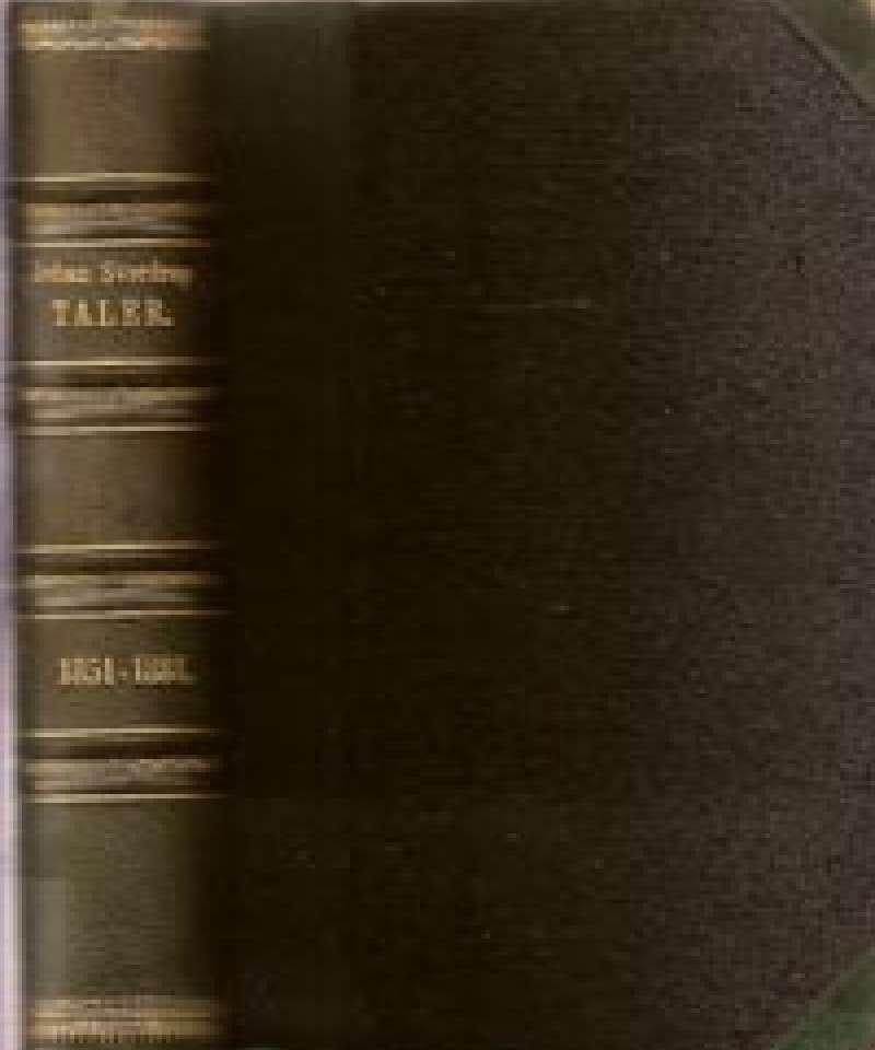 Taler holdte i Storthinget 1851-1881