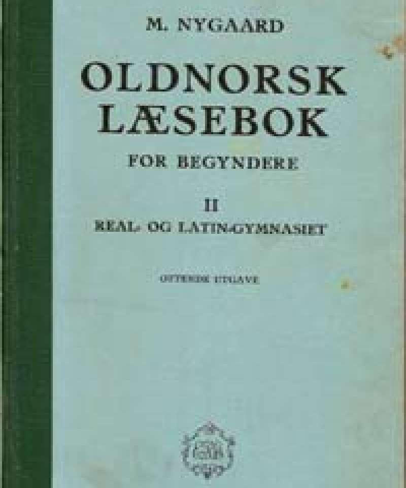 Oldnorsk læsebok for begyndere